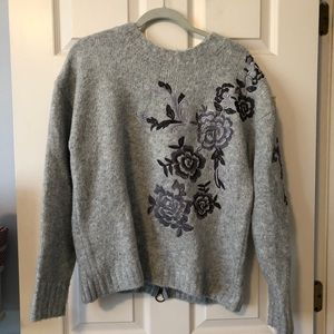 Blank NYC Embroidered Sweater